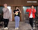 徐若瑄「V Live音樂分享會」攜手師兄熊仔、Shawn楊尚融練團唱跳嗨翻。(記者邱榮吉/攝影)