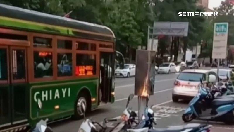 未關門就離站 嘉市最美電動公車惹議