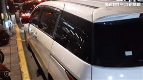 白車駕駛因行車糾紛遭對方開槍示威。(圖/翻攝畫面)