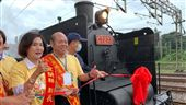 媽祖搭乘蒸汽火車遶境超吸睛