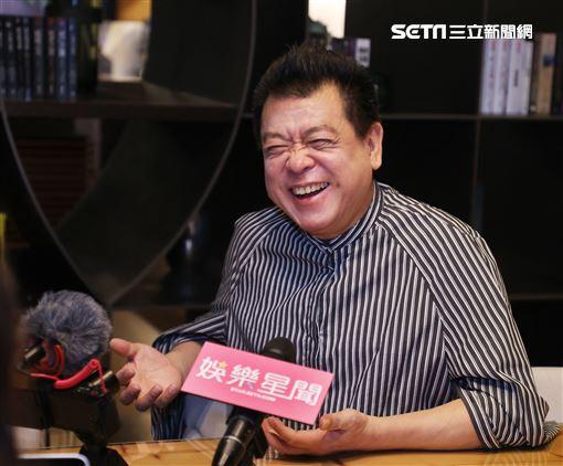 孫德榮三立新聞網專訪。(記者邱榮吉/攝影)