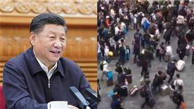 有網友在推特上分享一則影片,內容顯示大批的中國人民聚集在中國和越南邊境的「鎮南關」,疑似是因為國內經濟疲軟,想前往越南另謀出路(圖/翻攝資料照、推特)