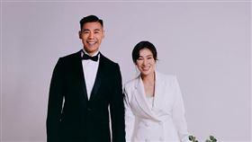 KIMIKO,王家玄,結婚,婚紗。圖/星予公關提供