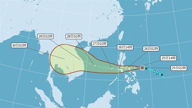 越南10月4颱侵襲!沙包太搶手 民眾改用水袋壓屋頂