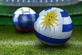 ▲烏拉圭,國旗,世界盃,足球。(示意圖/翻攝自Pixabay)