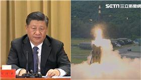 共機別再亂,中共五中全會期間,中科院將飛彈試射「無限高」(組合圖/資料照、國防部提供)