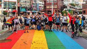 台灣第一屆彩虹騎行 挑戰130公里 圖/主辦單位提供