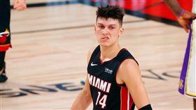 NBA/英雄哥再創史上第一菜鳥紀錄 NBA,季後賽,邁阿密熱火,Tyler Herro,紀錄,三分球 翻攝自推特