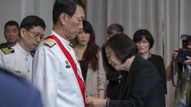 歷經三位元首!前參謀總長直言:蔡英文是最喜歡國軍的總統