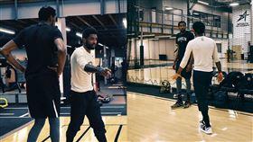 NBA/恐怖籃網來了!KD厄文合體 NBA,布魯克林籃網,Kyrie Irving,Kevin Durant 翻攝自推特《Bleacher Report》