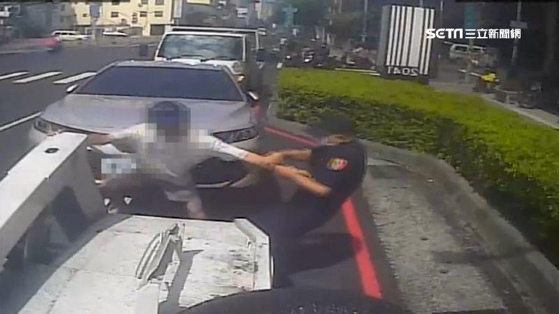 男違停與警發生衝突 罰金狂增26倍