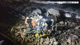 灑水車,墜落,海岸,新北,翻攝畫面