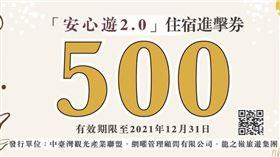 安心遊2.0,住宿進擊券,中台灣觀光產業聯盟協會提供