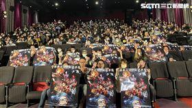 為衝刺人氣,木棉花昨晚於台北市今日秀泰影城舉辦首場特映(圖/木棉花提供)