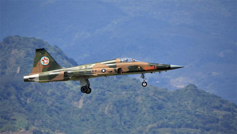 F-16V及勇鷹115年交機 F-5系列戰機擬全數汰除