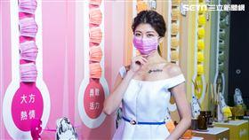 脱魯粉、忙day藍、嘿嘿黑…美德醫療推14款彩色口罩(圖/品牌提供)