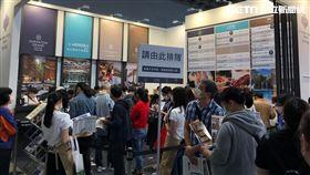 年年引起搶購熱潮的寒舍集團,今年ITF旅展排隊人潮引起高度注目