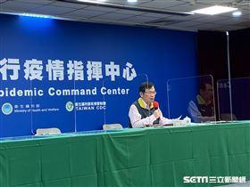 莊人祥指揮中心記者會1106(記者簡浩正攝影)