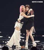 楊丞琳「LIKE A STAR」世界巡迴演唱會地2場特別嘉賓王心凌。(記者邱榮吉/攝影)