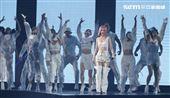 楊丞琳「LIKE A STAR」世界巡迴演唱會,台北站第2場台北小巨蛋唱。(記者邱榮吉/攝影)