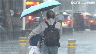 中南部防雨彈!熱帶擾動已達颱風強度
