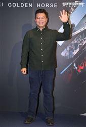 金馬影展「男兒王」導演王國燊。(記者邱榮吉/攝影)