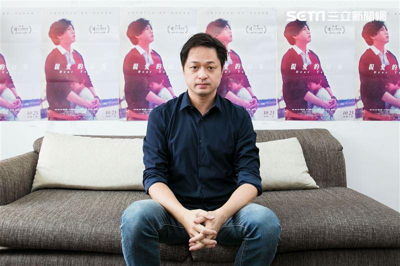 親愛的房客導演鄭有傑三立新聞網專訪。(圖/記者楊澍攝影)