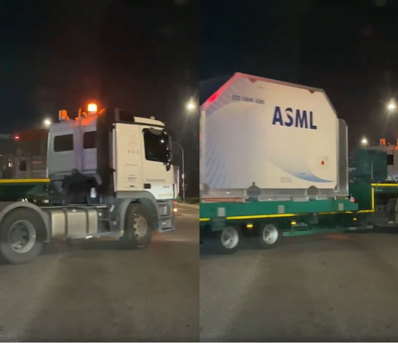 等紅燈驚見「台積電貨櫃車」 眾人一看腿軟:至少60億