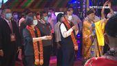 台西五條港安西府建醮大典 總統親臨