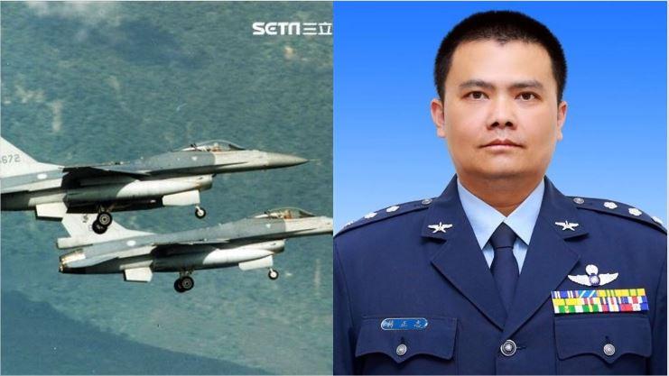 F-16失事5天!軍方首度揭失聯地點:1000公尺深海