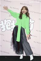 Ella和炎亞綸出席「抱抱節群星演唱會」。(圖/記者楊澍攝影)