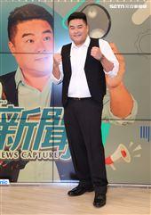 全新節目全新型態「攔捷新聞」談話性節目主持人呂捷。(記者邱榮吉/攝影)