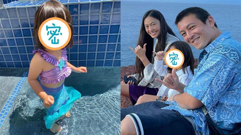 陳冠希曬3歲愛女!網讚:太可愛了