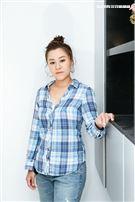 超偶靈魂歌姬楊蒨時三立新聞網專訪。(圖/記者楊澍攝影)