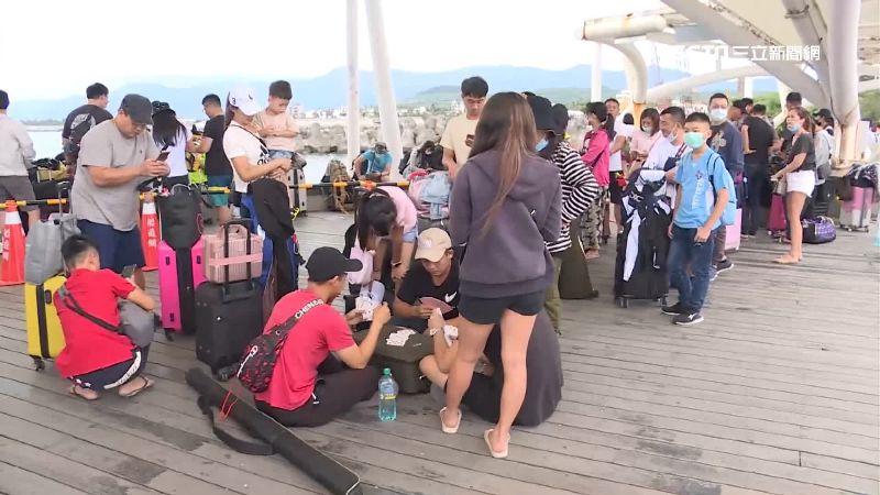 綠島擬增收登島費 9成居民遊客力挺
