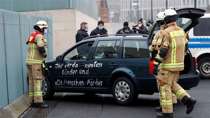 德國總理府遭車衝撞!警方研判非「極端主義」攻擊
