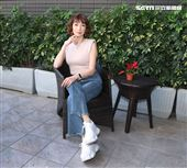 美魔女溫翠蘋轉行設計房產專訪。(記者邱榮吉/攝影)