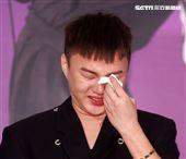 許富凱「拾歌」台北小巨蛋演唱會暨全新專輯「拾歌」發片記者會。(記者邱榮吉/攝影)