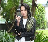 張芸京三立新聞網專訪。(記者邱榮吉/攝影)