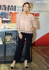 曲艾玲出席露德協會衣舊時尚,Out of Closet 出櫃二手衣,讓愛有所依義賣記者會。(記者邱榮吉/攝影)