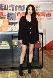 三立主播高毓璘出席露德協會衣舊時尚,Out of Closet 出櫃二手衣,讓愛有所依義賣記者會。(記者邱榮吉/攝影)