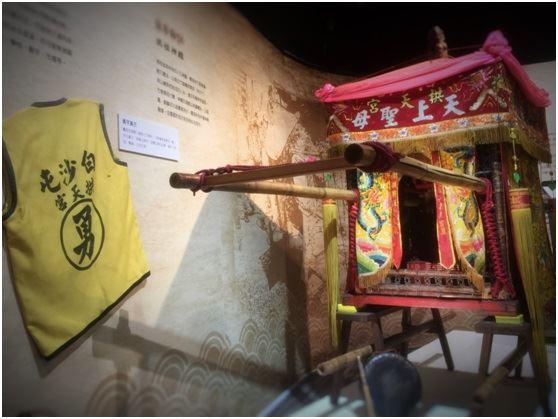 百年香隨 白沙屯媽祖文物展在台北
