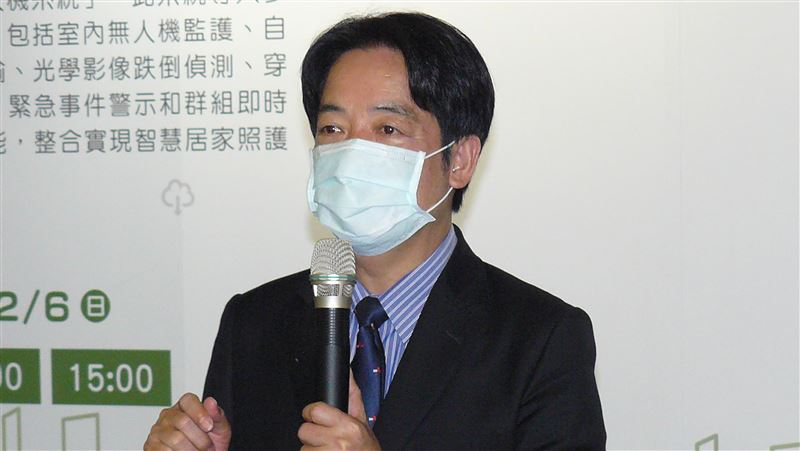 賴清德參觀資訊月:台灣應以科技推廣遠距教學