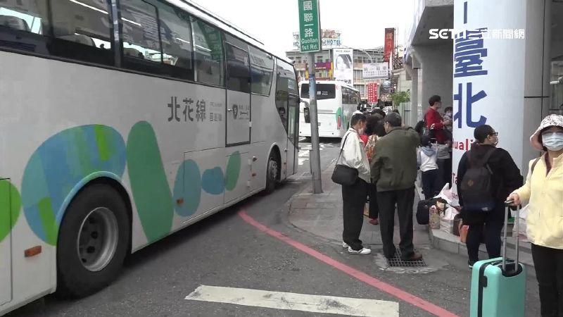 疏運往返東部旅客 國道客運7日加開312班次