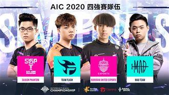 2020國際錦標賽四強名單正式出爐