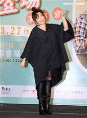 趙詠華、林俊逸出席「華逸登場」演唱會售票記者會。(記者邱榮吉/攝影)