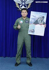 空軍4聯隊23作戰隊F16V飛官陳信全上尉。(記者邱榮吉/攝影)