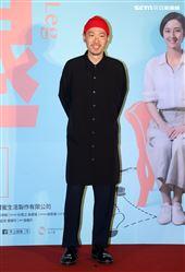 「腿」演員張少懷出席「腿」電影首映會。(記者邱榮吉/攝影)