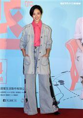 「腿」演員桂綸鎂出席「腿」電影首映會。(記者邱榮吉/攝影)