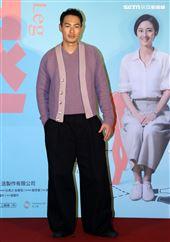 「腿」演員楊祐寧出席「腿」電影首映會。(記者邱榮吉/攝影)